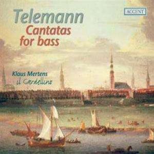Telemann Cantatas for bass
